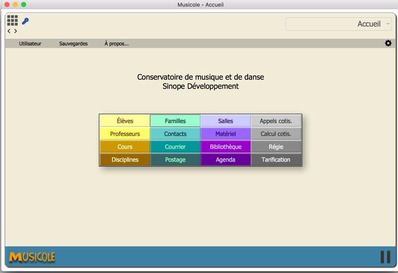 logiciel de gestion des écoles de musique